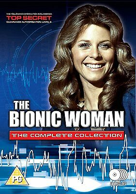 The Bionic Woman . Season 1 2 3 . Die Sieben Millionen Dollar Frau . 18 DVD NEU