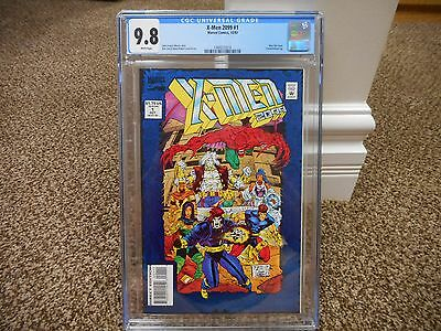 X-Men 2099 cgc 9.8 Marvel 1993 WHITE pages Bloodhawk Skullfire Junkpile Cerebra