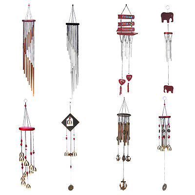 Tube Wind Chimes Mobile Wind chime Church Bell Outdoor Garden Hanging Decor Gift