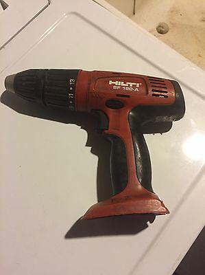 Hilti SF 180-A hammer drill Tool Only Free Shipping