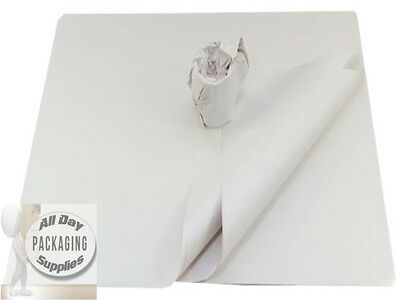 """600 Large Sheets Of White Packing Wrapping Paper 20 X 30"""" Chip News Offcuts"""