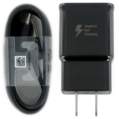 New OEM Samsung Adaptive Fast Wall Charger Lot Type-C Cable Galaxy S8 Plus Edge