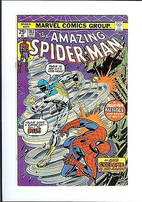 AMAZING SPIDER-MAN #143 1975 Marvel And The Wind Cries 1st Cyclone Gwen clone FN