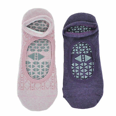 Tavi Noir Chey Socks 2-Pack Lavender/Tavi Cotton Candy Womens Non-Slip Grip Soc