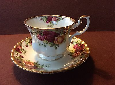 ''Old Country Roses'' By Royal Albert - Cup & Saucer - Md England - 12 Avail...