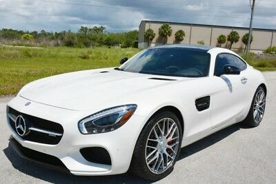 2017 Mercedes-Benz Other  2017 AMG GT-S - DIAMOND WHITE OVER SADDLE EXCLUSIVE LEATHER - LIKE BRAND NEW