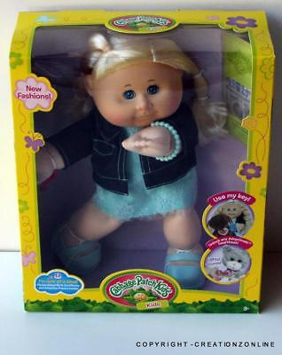 Leslie Madelyn October 3 Cabbage Patch Kids Doll Brand New 35Cms + Birth Cert