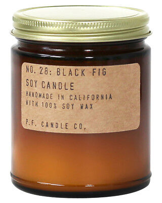 New Pf Candle Co Black Fig Regular Candle Loundge Living Room Natural N/A