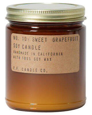 New Pf Candle Co Sweet Grapefruit Regular Candle Loundge Living Room Natural N/A