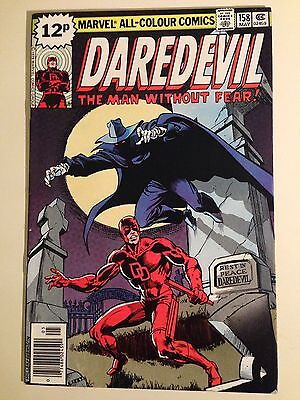 Daredevil # 158 1st Frank Miller On Daredevil VF.