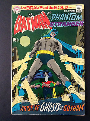 Brave and Bold #89 with Batman & Phantom Stranger, fn