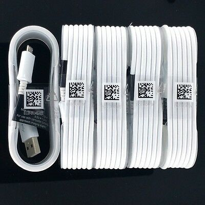 5X New OEM Samsung Fast Adaptive Charging Cable 5FT Micro USB For Android Phone