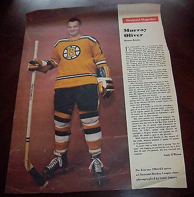 Murray Oliver # 8 issue Weekend Magazine Photos 1962 -1963 Toronto Star
