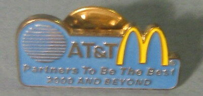 McDonald's 2000 Worldwide Convention A T & T Partners to be the Best  Lapel PIN