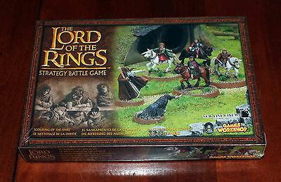 Lord of the Rings miniatures Scouring of the Shire box set Games Workshop new