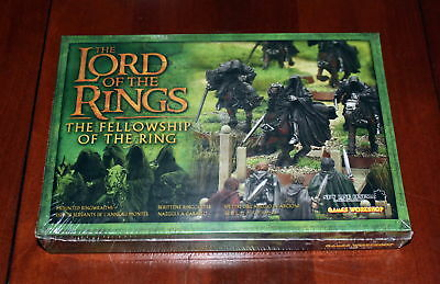 Lord of the Rings miniatures Mounted Ringwraiths box set Games Workshop metal