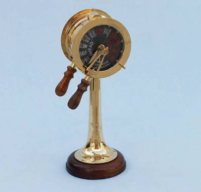 Brass Titanic Engine Room Telegraph 18""