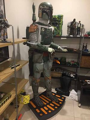 Boba Fett Star Wars Life Size Statue By Sideshow