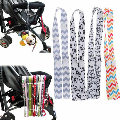 Anti Drop Toy Fastening Clip Baby Stroller Pram Pushchair Accessory Strap Hanger