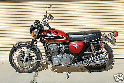 Honda.cb750.1976,all original,runs good,Low miles.