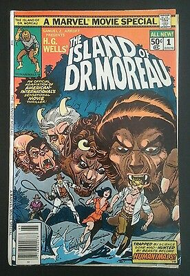 The Island of Dr. Moreau #1 - (1977, Marvel) - FN-