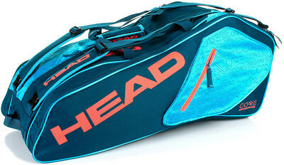Head Core 9R Supercombi Tennis Bag Holds Up To 9 Racquets