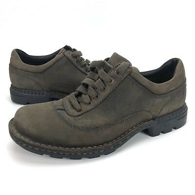 68d7afe3c73 UGG AUSTRALIA MEN'S 9 M Brown Nubuck Leather Casual Oxford Lace Up Shoes  5622