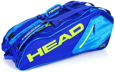 Head Core 9R Supercombi Tennis Bag Holds Up to 9 Tennis Racquets