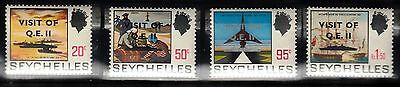 Vs21 Seychelles #323-6 Stamps, Mint, Og, Nh