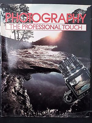 Photography The Professional Touch Guide Camera Book Artists House Hardcover