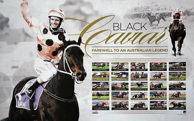 Horse Racing Black Caviar Farewell To A Legend Print