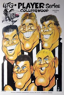 AFL Collingwood Magpies WEG Player Series Poster