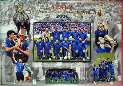 Soccer Italy 2006 World Cup Champions Poster