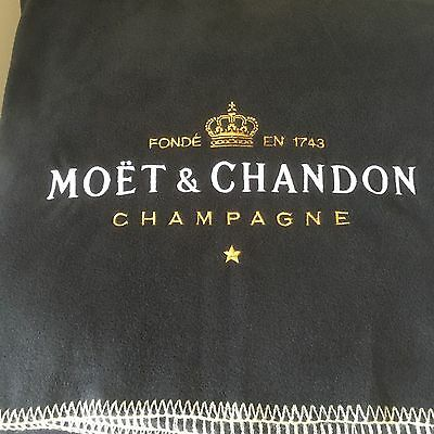 Moet & Chandon Large Black Picnic Blanket