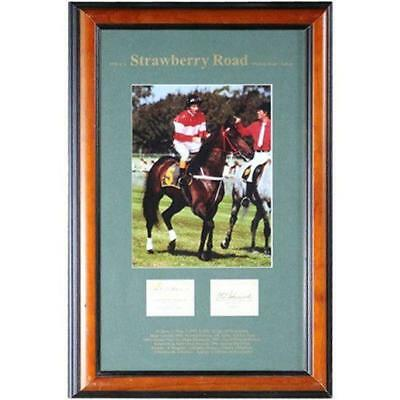 Strawberry Road Photo Signed Frame