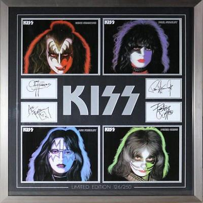 KISS Limited Edition limited to 250 Framed