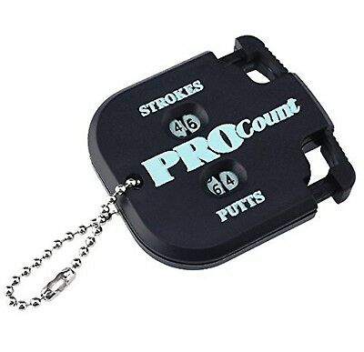 LL-Golf Golf Score Counter for 2 People / Stroke Counter / Putt Counter / Tal...