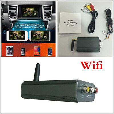 Universal 12V Car WIFI Mirror Link Mirror Converter For IOS Android Mobile Phone