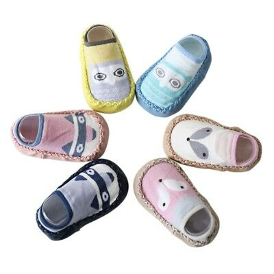 Cartoon Soft Warm Anti-slip Shoes Newborn Kids Baby Boots Slipper Socks 0-18M