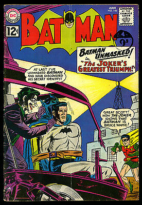 Dc 1962 Batman Detective Comic #148 Jokers Uncovers Batman's Secret Identity?