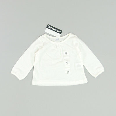 Camiseta color Blanco marca In Extenso 3 Meses
