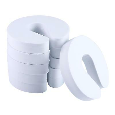 White EVA Foam Door Stoppers, Finger Pinch Guard for Baby/Child Safety 6 Pack