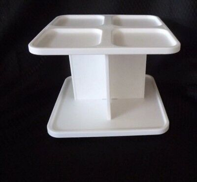 BNIP Tupperware Spice Carousel Rack for Modular Mates Spice Containers - White.