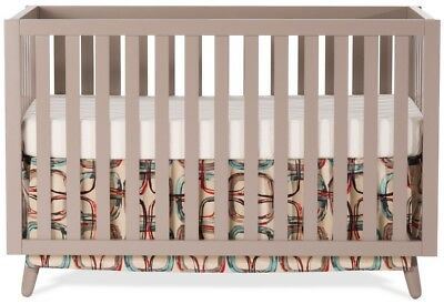 Child Craft Loft Crib - Brown Clay Frame Material Wood Metal Non-Toxic Finish