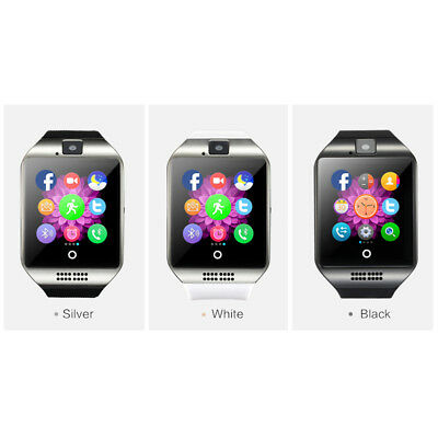 Hot Q18 Touch Screen Smart Bluetooth Watch with SIM Camera For Android IOS lot-