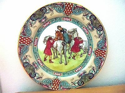 Royal Doulton Collector Plate  HUNTING THOMSON A   Sport & Leisure Series