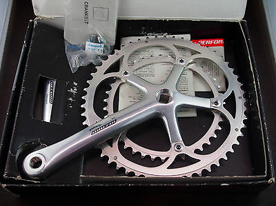 NOS In Box Campagnolo Record Crankset 175mm 53-39 Early 2000 era NEW