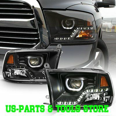 Dodge Ram 2009-2016 Projector Scheinwerfer  09 - 16 14  2009 2017 2010 2015 Led