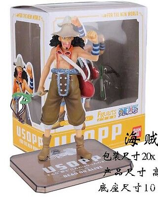 One Piece 15cm Usopp Anime Action Figure With Box FREE SHIPPING