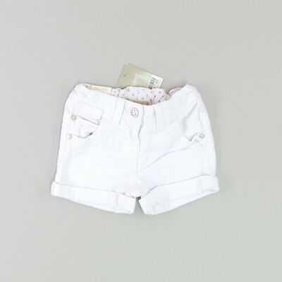 Shorts color Blanco marca Next 12 Meses